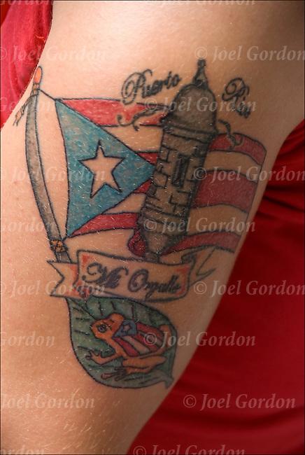 Puerto Rican Flag Tattoos for Men