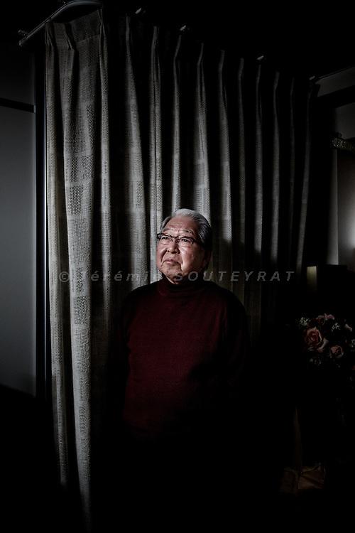 Tokyo, April 1st 2013 - Portrait of Japanese photographer Eiko Hosoe at his office.