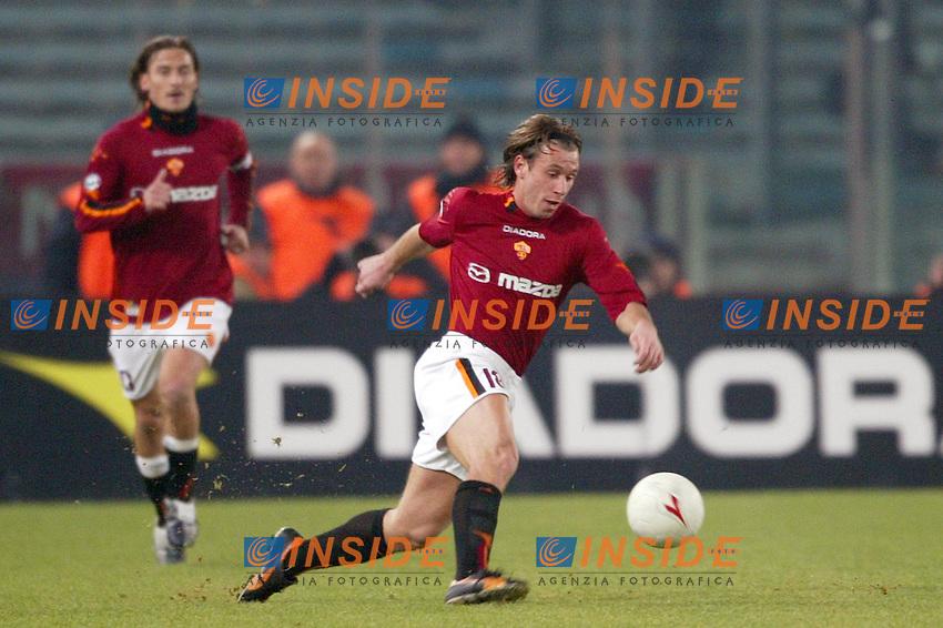 Roma 6/1/2004 Roma - Milan 1-2<br /> Antonio Cassano (Roma)<br /> Photo Andrea Staccioli / Insidefoto