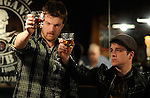 Actors Dax Spanogle, left, and Michael James Dault in the independent feature film &quot;The Scrapper&quot;.