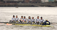 Chiswick, London. ENGLAND,11.03.2006, Leander RC, starting at No.1, pass, Chiswick Pier, during the 2006 Women's Head of the River Race,  Mortlake to Putney  on Saturday, 11th March,    © Peter Spurrier/Intersport-images.com.. 2006 Women's Head of the River Race. Rowing Course: River Thames, Championship course, Putney to Mortlake 4.25 Miles