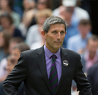 ANDREW JARRETT - TOURNAMENT DIRECTOR<br /> <br /> The Championships Wimbledon 2014 - The All England Lawn Tennis Club -  London - UK -  ATP - ITF - WTA-2014  - Grand Slam - Great Britain -  5th July  2014. <br /> <br /> &copy; AMN IMAGES