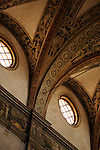 Inside the church of San Giovanni Evangelista in Parma, Italy.