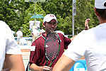 09 May 2015: Head Coach Matt Roberts. The University of North Carolina Tar Heels hosted the Mississippi State University Bulldogs at Cone-Kenfield Tennis Center in Chapel Hill, North Carolina in a 2015 NCAA Division I Men's Tennis Tournament Second Round match. UNC won the match 4-1.