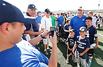 _W1_8543<br /> <br /> The BYU Football Team holds a public practice and Fan Fest at Dixie High School in St. George, Utah.<br /> <br /> 2017 BYU Football - Spring Practice March 17, 2017<br /> <br /> March 17, 2017<br /> <br /> Photo by Jaren Wilkey/BYU<br /> <br /> &copy; BYU PHOTO 2017<br /> All Rights Reserved<br /> photo@byu.edu  (801)422-7322