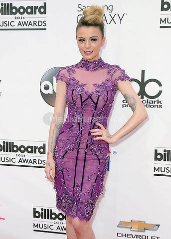 LAS VEGAS, NV - MAY 18:  Cher Lloyd at the 2014 Billboard Music Awards at the MGM Grand Garden Arena on May 18, 2014 in Las Vegas, Nevada.PGSK/MediaPunch