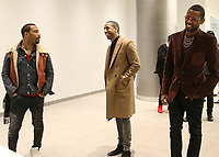 NEW YORK, NY - MARCH 8, 2015 Omari Hardwick, Ryan Leslie & Fabolous attend the Icon Talks dinner honoring Fabolous at Porsche Manhattan Mororcars, March 8, 2016 in New York City. Photo Credit: Walik Goshorn/Mediapunch
