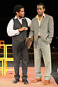 "Peter Brooks' production of ""The Suit"" opens at the Young Vic. Picture shows: Jared McNeill (as Maphikela) and William Nadylam (as Philemon)."