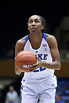 17 November 2016: Duke's Oderah Chidom. The Duke University Blue Devils hosted the Grand Canyon University Antelopes at Cameron Indoor Stadium in Durham, North Carolina in a 2016-17 NCAA Division I Women's Basketball game. Duke won the game 90-47.