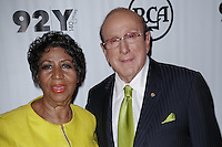 92nd Street Y Presents Aretha Franklin and Clive Davis in Conversation