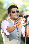 Eric Benet Peforms at the 4th Annual R&B Fest 2012 Eric Benet, Salt-n-Pepa, Christopher Williams, Kenny Lattimore, Q Parker, DJ DWIZ Presented in Association with: Globe Star Media and WBLS held at SummerStage Central Park, NY  8/12/12