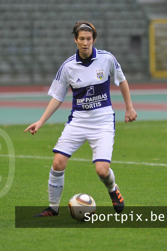 RSC Anderlecht Dames - Standard Femina de Liege : Lien Kesteloot.foto JOKE VUYLSTEKE / Vrouwenteam.be
