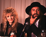 Fleetwood Mac 1987  Stevie Nicks & Mick Fleetwood..© Chris Walter..