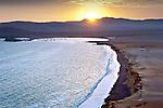 lLima, Peru, Paracas National Reserve, Lagunillas Bay, Subtropical Coastal Desert, Sunset, Ica