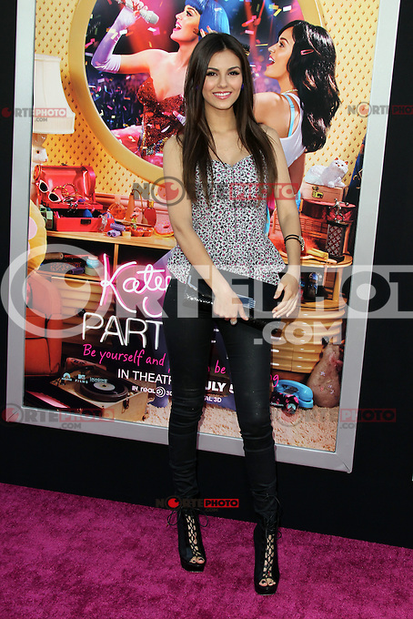 Victoria Justice at the premiere of Paramount Insurge's 'Katy Perry: Part Of Me' at Grauman's Chinese Theatre on June 26, 2012 in Hollywood, California. &copy;&nbsp;mpi29/MediaPunch Inc. /**NORTEPHOTO:COM**<br />