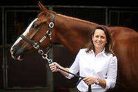Portraits of Pippa Funnell by James Horan. <br /> Pippa Funnell is an equestrian sportswoman, regarded as one of the Eventing's sporting elite. She competes in three-day eventing. In 2003 became the first person and currently only person to win Eventing's greatest prize, the Rolex Grand Slam of eventing.