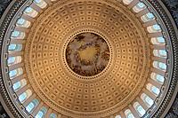 Canopy Fresco Of the US Capitol Rotunda in Washington DC, USA