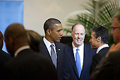United States President Barack Obama attends a meeting of the Libya Contact Group at the United Nations in New York, New York on Tuesday, September 20, 2011..Credit: Allan Tannenbaum / Pool via CNP