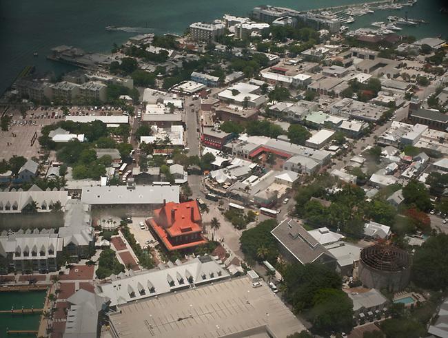 Aerial Key West center