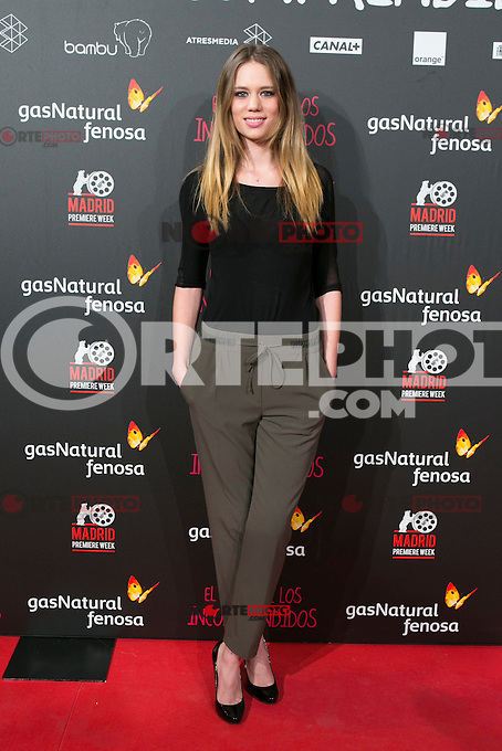 Arancha Marti attend the Premiere of the movie &quot;El club de los incomprendidos&quot; at callao Cinema in Madrid, Spain. December 1, 2014. (ALTERPHOTOS/Carlos Dafonte) /NortePhoto<br />