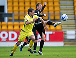 St Johnstone v Kilmarncok....06.11.10  .Chris Millar and Craig Bryson.Picture by Graeme Hart..Copyright Perthshire Picture Agency.Tel: 01738 623350  Mobile: 07990 594431