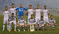 CARSON, CA – June 3, 2011: LA Galaxy startling line-up for the match between LA Galaxy and DC United at the Home Depot Center in Carson, California. Final score LA Galaxy 0, DC United 0.
