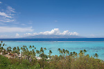 Moorea, French Polynesia; views of Tahiti from scenic overlook on drive from Ferry landing to the Gump Research Station on Cooks Bay , Copyright © Matthew Meier, matthewmeierphoto.com All Rights Reserved