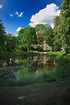 Ornamental lake Altdorf near Nurnburg.