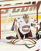 Kiera Kingston (BC - 32) - The Boston College Eagles defeated the visiting Brown University Bears 5-2 on Sunday, October 24, 2010, at Conte Forum in Chestnut Hill, Massachusetts.