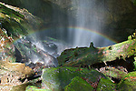 Rainbow on Rainbow Falls, White Oak Sink