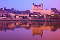 Saumur Castle         Loire Valley, France       Castle dating from 13th Century   UNESCO World Heritage Site   Loire River