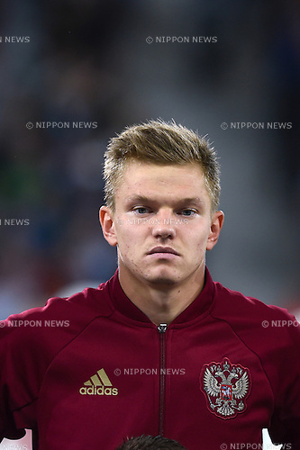 Oleg Shatov (Russia) ; <br /> June 15, 2016 - Football : Uefa Euro France 2016, Group B, Russia 1-2 Slovakia at Stade Pierre Mauroy, Lille Metropole, France. (Photo by aicfoto/AFLO)
