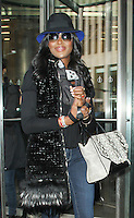 JAN 23 Naomi Campbell at SiriusXM Studios