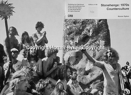 Stonehenge:1970 Counterculture.<br /> <br /> PhotoZine published by Cafe Royal Books. Edition of 150.  All book shop copies SOLD OUT. I have 2 copies left. Published in 2013. 28 pages, staple bound, A5.<br /> <br /> &pound;35-00 including p&amp;p in UK.
