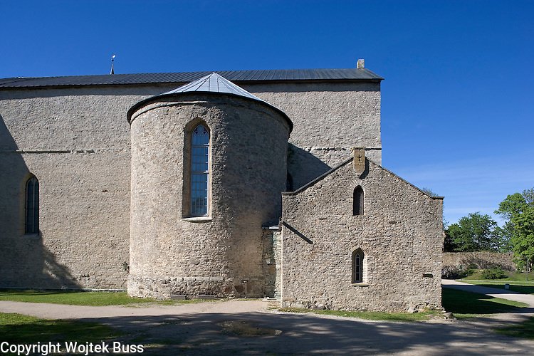 Estonia,Haapsalu,bishop's Castle,Cathedral,fortified