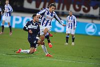 VOETBAL: HEERENVEEN: Abe Lenstra Stadion, 07-02-2015, Eredivisie, sc Heerenveen - PEC Zwolle, Eindstand: 4-0, Simon Thern (#7), ©foto Martin de Jong