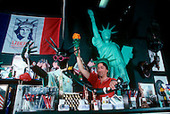 1985-1986, New York City, New York: Statue of Liberty Merchendising