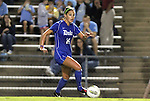 13 October 2011: Duke's Laura Weinberg. The University of North Carolina Tar Heels defeated the Duke University Blue Devils 1-0 at Fetzer Field in Chapel Hill, North Carolina in an NCAA Division I Women's Soccer game.
