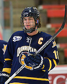 Scott Zurevinski (Quinnipiac - 19) - The visiting Quinnipiac University Bobcats defeated the Harvard University Crimson 3-1 on Wednesday, December 8, 2010, at Bright Hockey Center in Cambridge, Massachusetts.