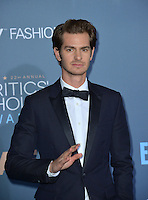 Andrew Garfield at the 22nd Annual Critics' Choice Awards at Barker Hangar, Santa Monica Airport. <br /> December 11, 2016<br /> Picture: Paul Smith/Featureflash/SilverHub 0208 004 5359/ 07711 972644 Editors@silverhubmedia.com