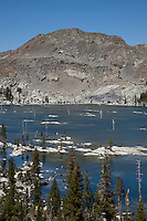 """Lake Aloha 5"" - Photograph of Lake Aloha in the Tahoe Desolation Wilderness."