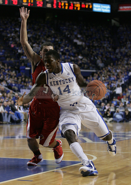 Freshman forward Michael Kidd-Gilchrist in the second half of UK's win over Lamar University at Rupp Arena, on Wednesday, Dec. 28, 2011. Photo by Latara Appleby | Staff ..
