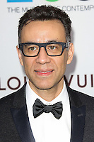 LOS ANGELES, CA, USA - MARCH 29: Fred Armisen at the MOCA's 35th Anniversary Gala Presented By Louis Vuitton held at The Geffen Contemporary at MOCA on March 29, 2014 in Los Angeles, California, United States. (Photo by Celebrity Monitor)