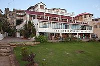 Stone Town, Zanzibar, Tanzania.  Africa House Hotel.