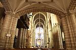 Interior of the Se Cathedral, Evora, Portugal