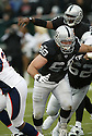COOPER CARLISLE, of the Oakland Raiders  in action during the Raiders game against the  Denver Broncos on December 2, 2007 in Oakland, California...RAIDERS  win 34-20..SportPics
