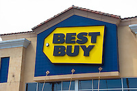 Best Buy, Store Logo, Los Angeles, Manhattan Beach, California, CA, Stores, shopping center