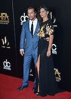 BEVERLY HILLS, CA. November 6, 2016: Actor Matthew McConaughey &amp; wife Camila Alves at the 2016 Hollywood Film Awards at the Beverly Hilton Hotel.<br /> Picture: Paul Smith/Featureflash/SilverHub 0208 004 5359/ 07711 972644 Editors@silverhubmedia.com