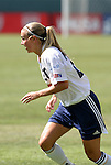 27 June 2004: Heather Mitts. The Philadelphia Charge defeated the San Jose CyberRays 2-0 at the Home Depot Center in Carson, CA in Womens United Soccer Association soccer game featuring guest players from other teams.