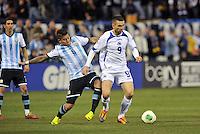 St. Louis, Missouri - Monday, November 18, 2013:<br /> Argentina defeated Bosnia-Herzegovina 2-0 in an international friendly at Busch Stadium.